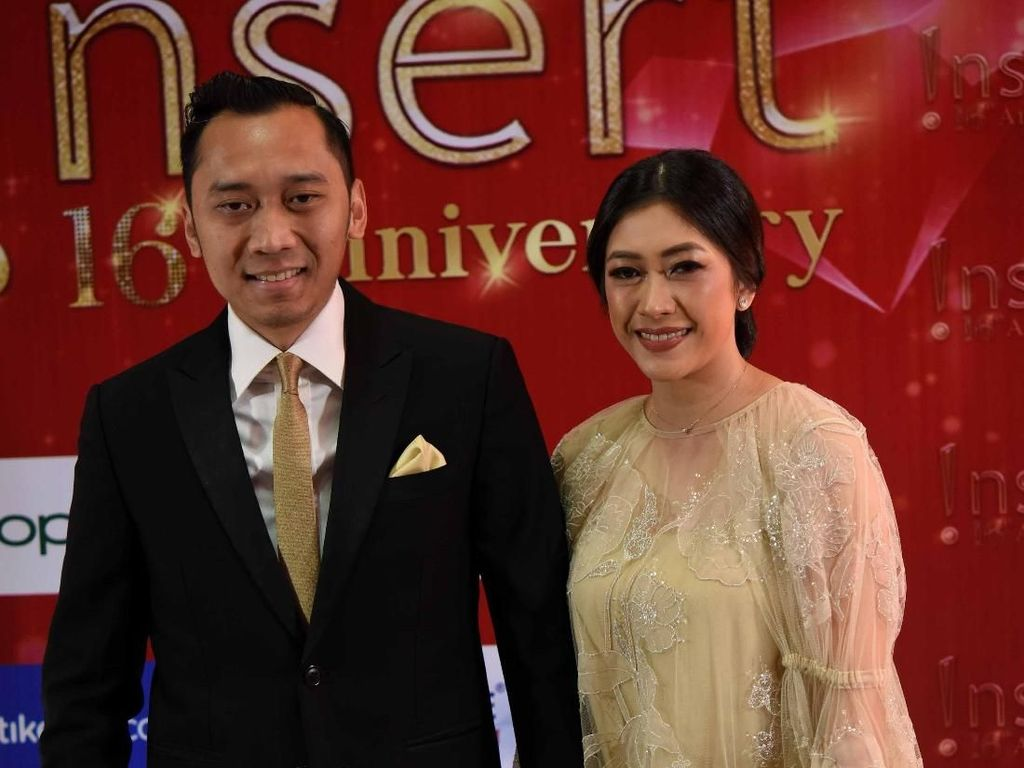 Ani Yudhoyono Dapat Lifetime Achievement, Ibas Tak Kuasa Tahan Haru