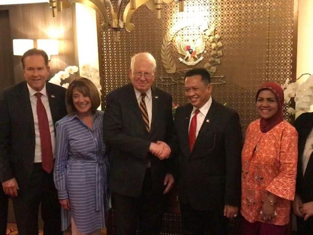 DPR Terima Kunjungan Anggota Kongres AS, Bahas Modernisasi Parlemen