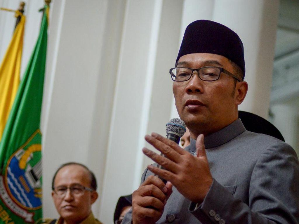Ridwan Kamil Geram Pabrik Buang Limbah ke Citarum Malam-malam