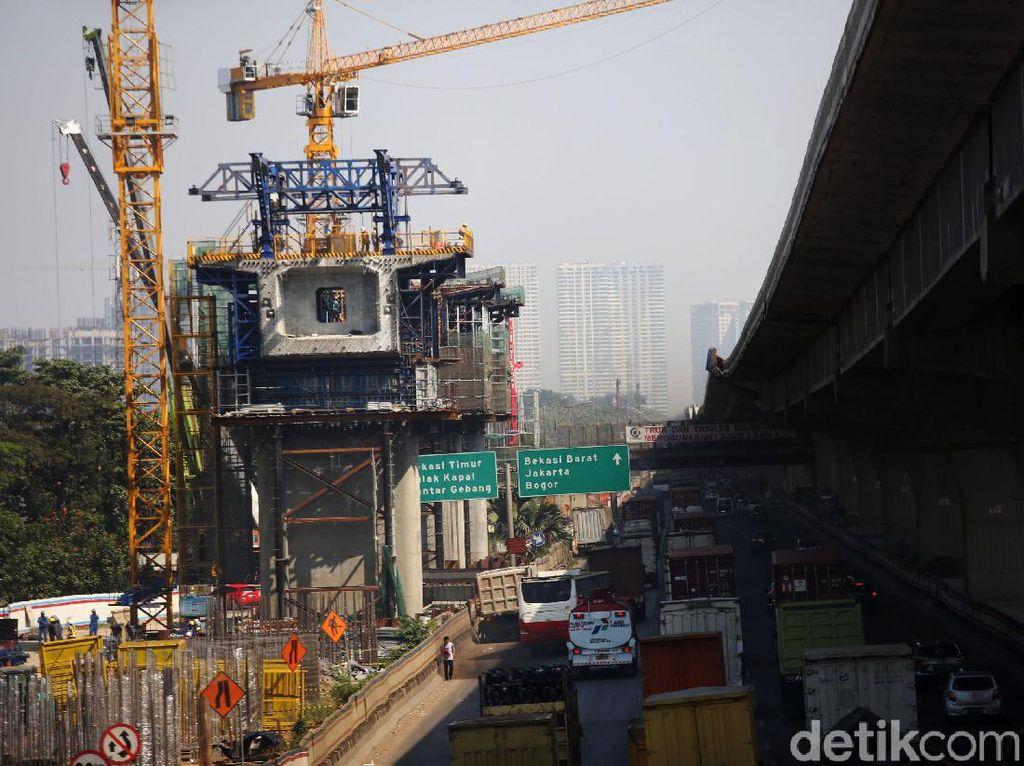 Pembangunan Infrastruktur RI Dibayangi Seretnya Setoran Pajak