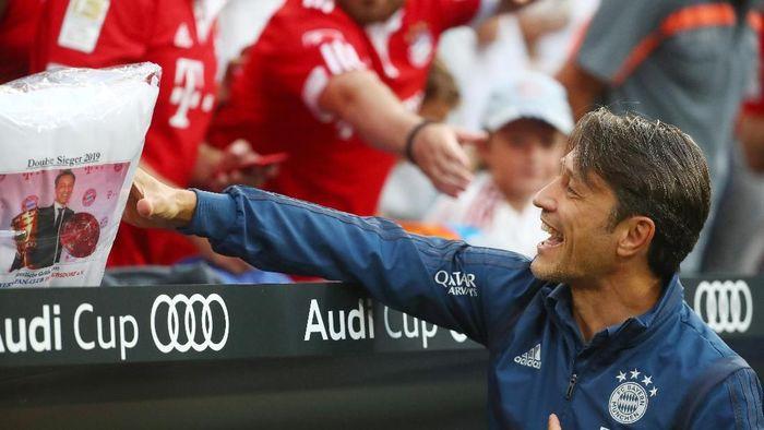Niko Kovac meminta maaf kepada Pep Guardiola terkait Leroy Sane (REUTERS/Michael Dalder)
