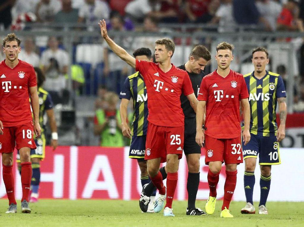 Gilas Fenerbahce, Bayern Jumpa Tottenham di Final Audi Cup