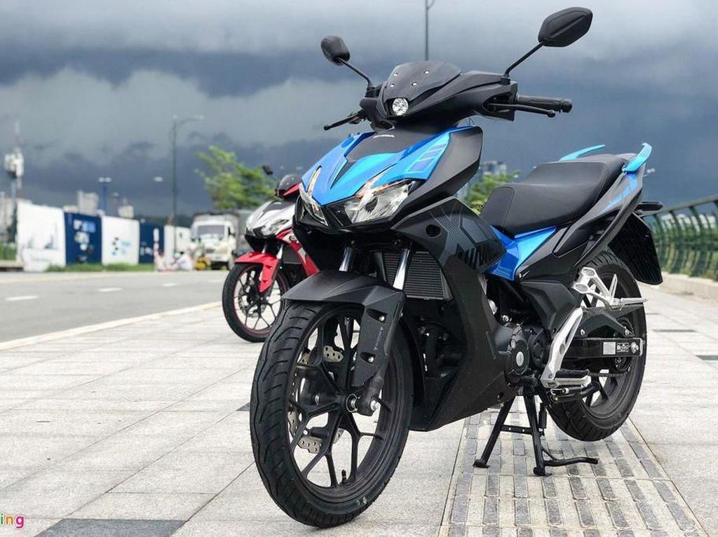 Ganteng Abis! Modifikasi Kembaran Honda Supra GTR 150 di Vietnam