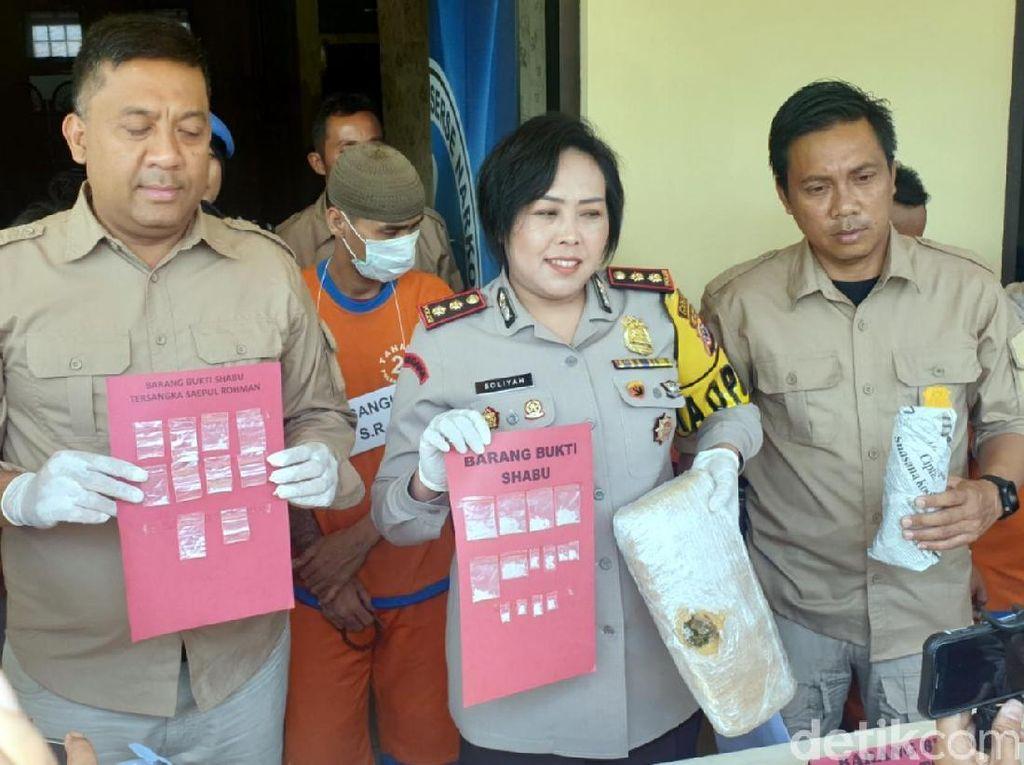 IRT Ini Lanjutkan Jejak Almarhum Suami Edarkan Narkoba di Cianjur