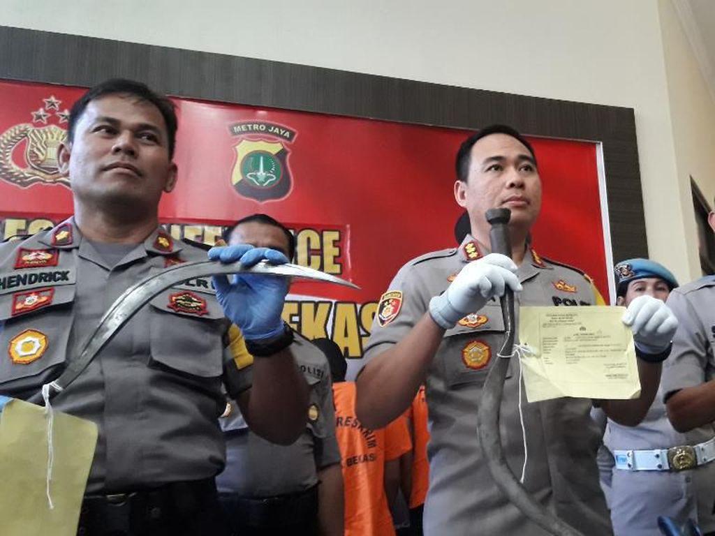 Polisi Tangkap Geng Cibitung All Star Pelaku Begal Sadis di Bekasi