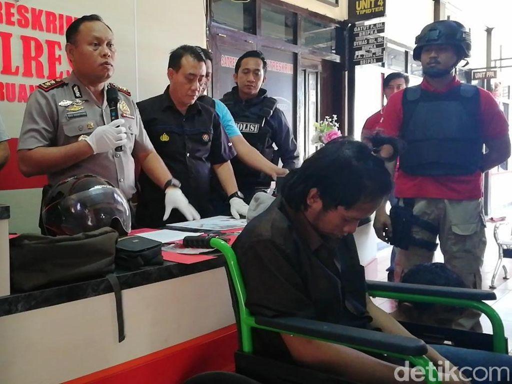 Dua Begal Bersenjatakan Bom Ikan Dibekuk, Satu Ditembak Kaki
