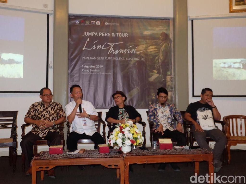50 Koleksi Nasional Pascakemerdekaan Dipajang di Jakarta