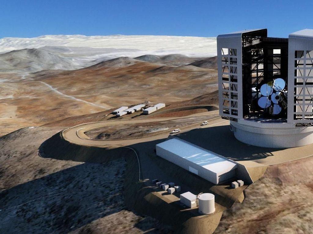Apa Kabar Pembangunan Teleskop Terbesar Dunia?
