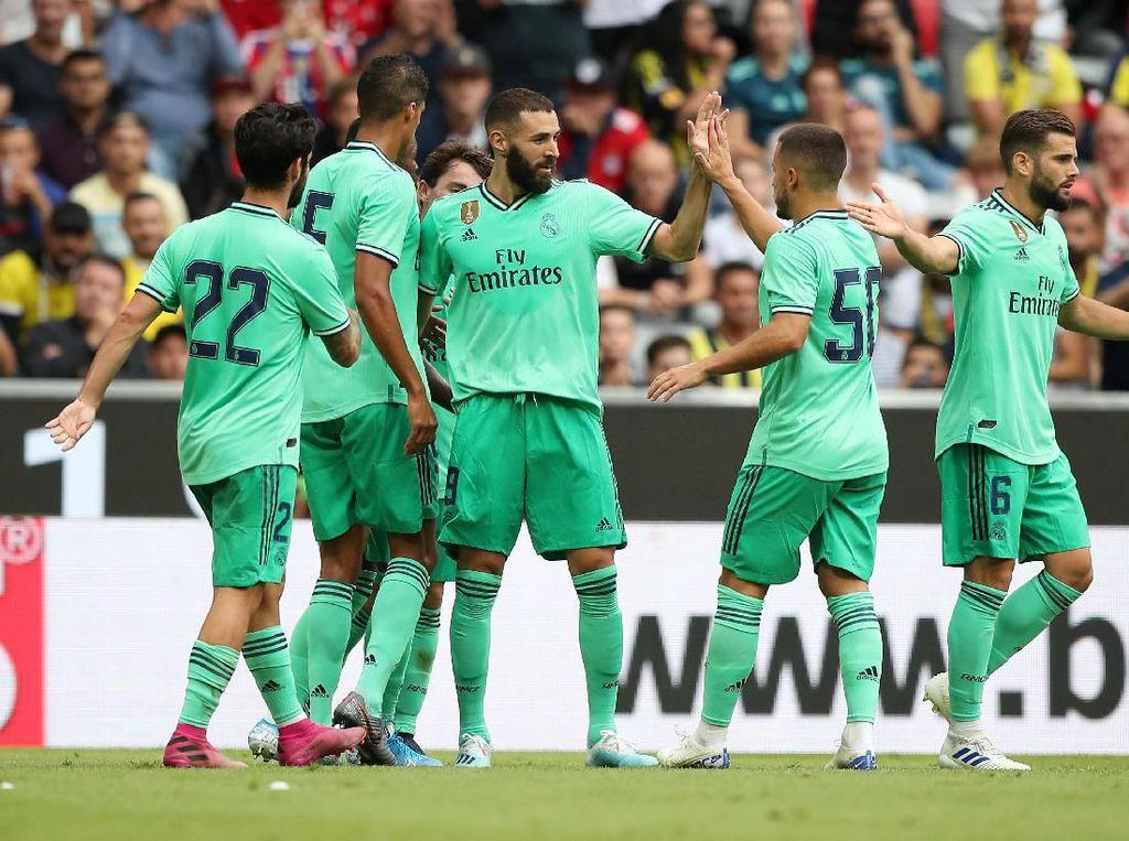 Real Madrid Vs Fenerbahce: Benzema Hat-trick, Los Blancos Menang 5-3