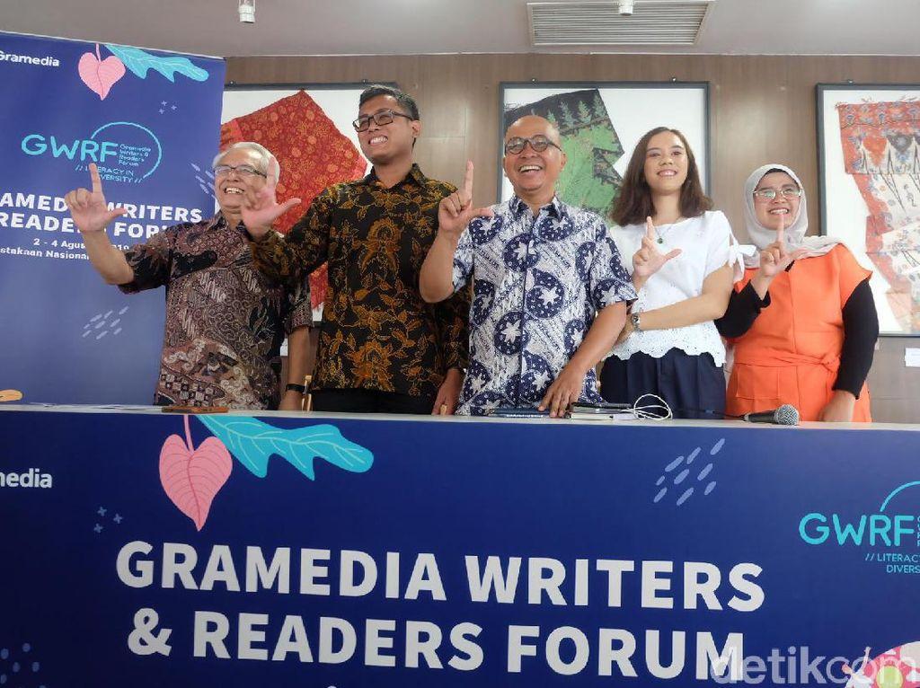 GWRF Jadi Ajang Temu Penulis dan Pembaca