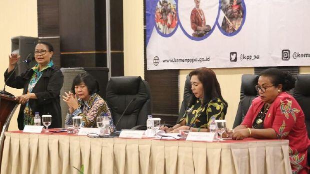 Bertemu Tokoh Adat Papua, Menteri PPPA Bicara Kesetaraan Gender