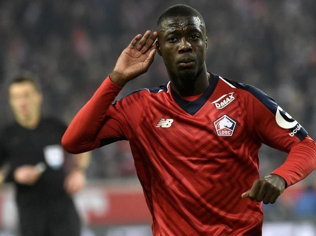 Gaet Nicolas Pepe, Arsenal Pecahkan Rekor Transfer Klub