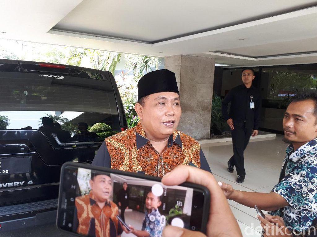 Arief Poyuono Bertemu Mensesneg Pratikno, Bahas Apa?