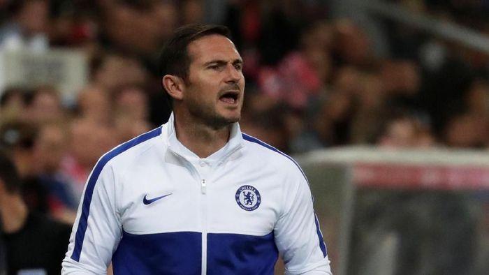 Frank Lampard bertekad memberi bukti kepada mereka yang meragukan kemampuannya menangani Chelsea (Foto: Leonhard Foeger/REUTERS)