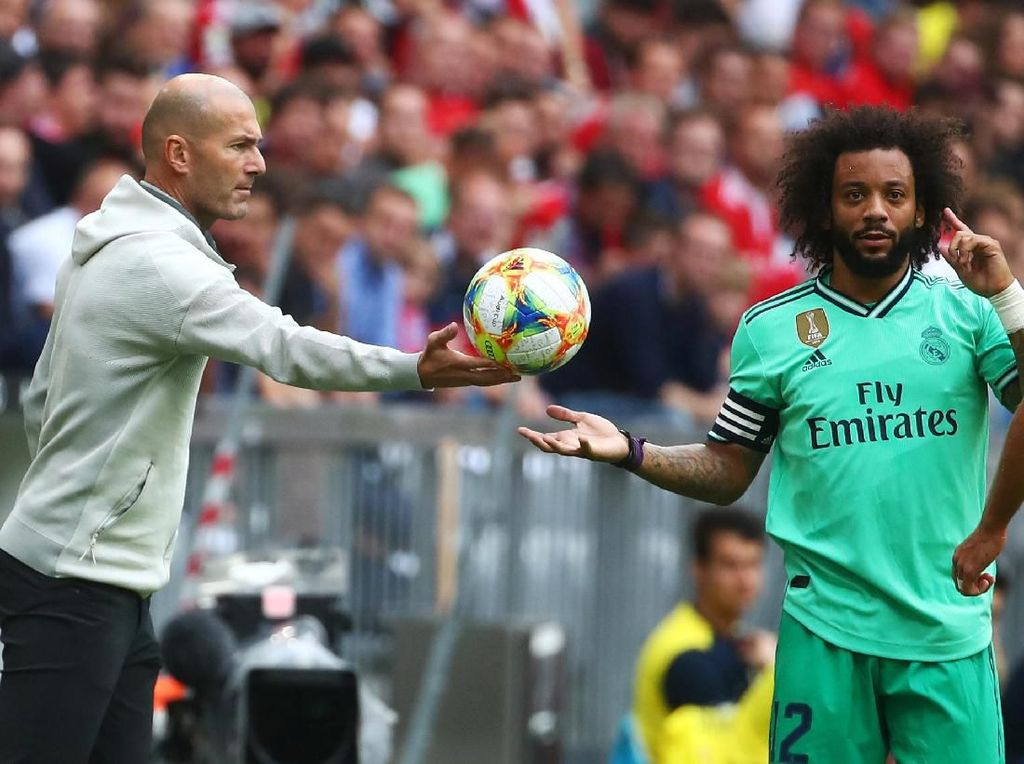 Karena Zidane Percaya dengan Skuat Madrid Saat Ini