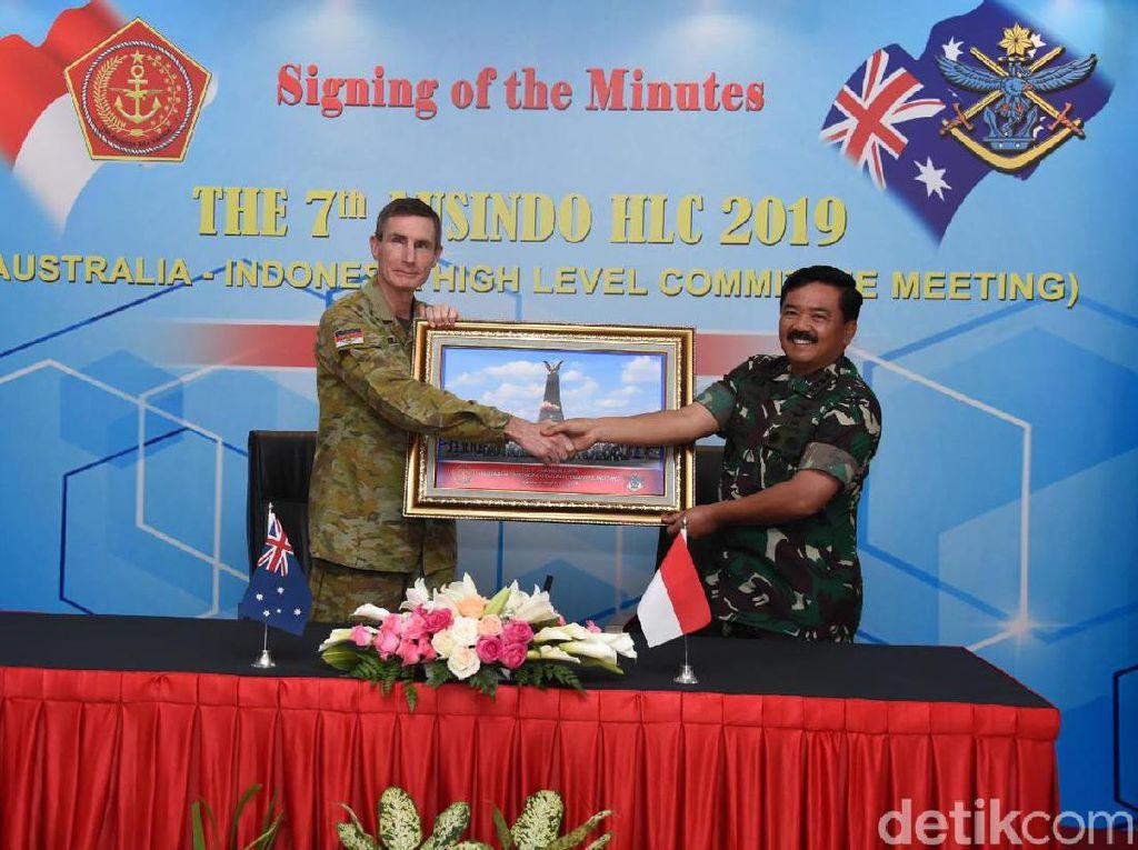 Panglima TNI Harap Hubungan yang Lebih Erat dengan Militer Australia