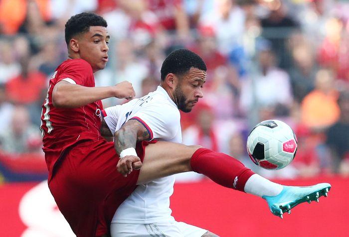 Liverpool tampil dominan dengan 62 persen ball possesion dan membuat 15 attempts, delapan on target.