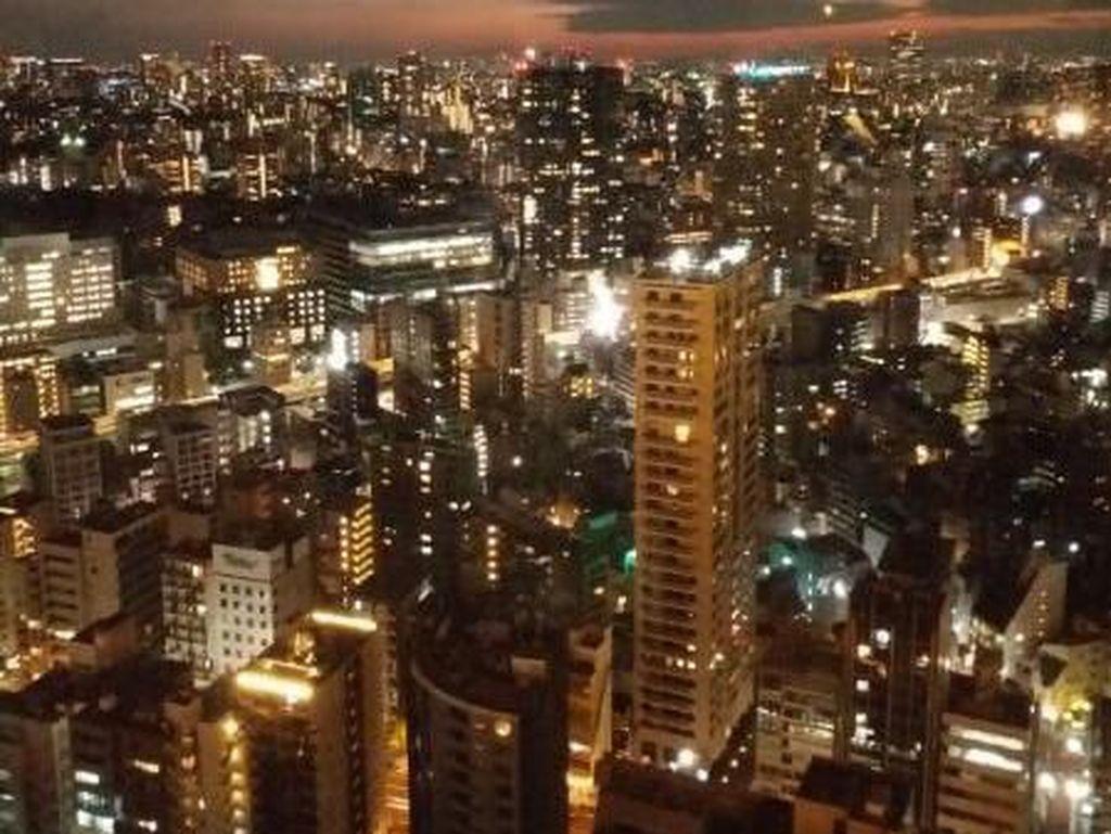 Foto: Pemandangan Keren dari Tokyo Tower