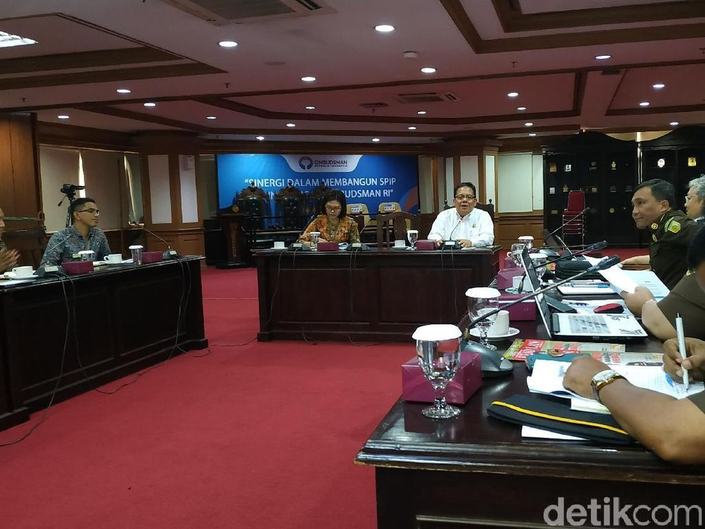 TP4 Kejagung Bertemu Ombudsman Bahas Proyek yang Diganggu Oknum