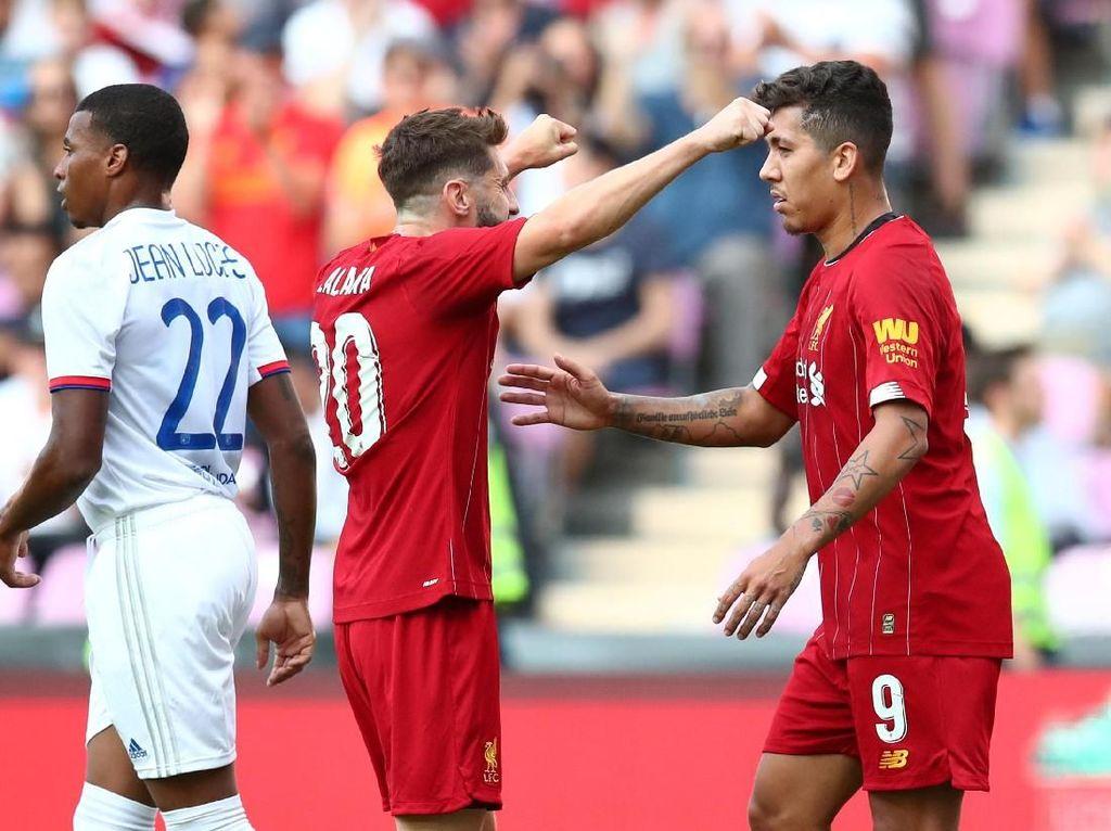Hasil Liverpool Vs Lyon: The Reds Tutup Pramusim dengan Kemenangan