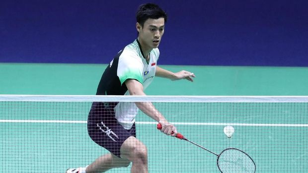 Shesar Hiren Rhustavito di Thailand Open 2019