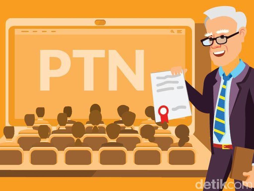 PTN Unggulan Tak Masuk 20 Besar Paling Ketat SNMPTN 2021, LTMPT: Masyarakat Realistis