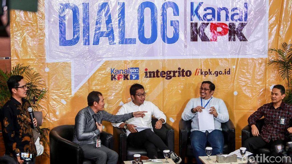 Diskusi Pentingnya Lapor LHKPN dalam Seleksi Capim KPK