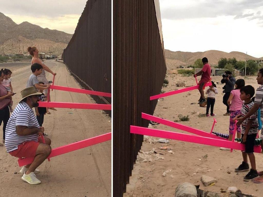 Permainan Jungkat-jungkit di Perbatasan Meksiko dan AS