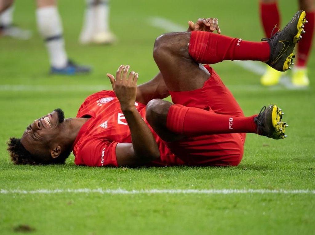 Cederanya Tak Parah, Coman Bisa Main di Piala Super Jerman