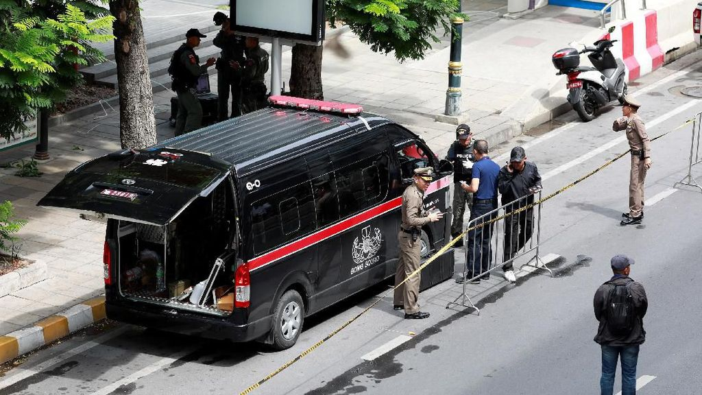 Polisi Perketat Pengamanan Usai Ledakan Guncang Thailand