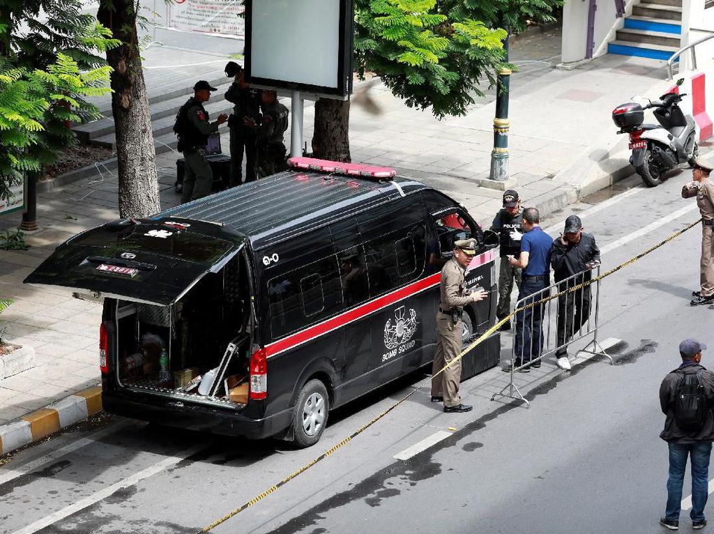 Ada Bom Ping Pong di Antara Rentetan Ledakan Bom di Bangkok