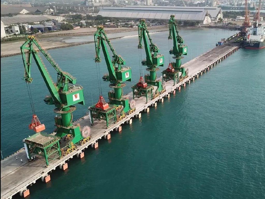 Pelabuhan Curah Kering Terbesar di Indonesia