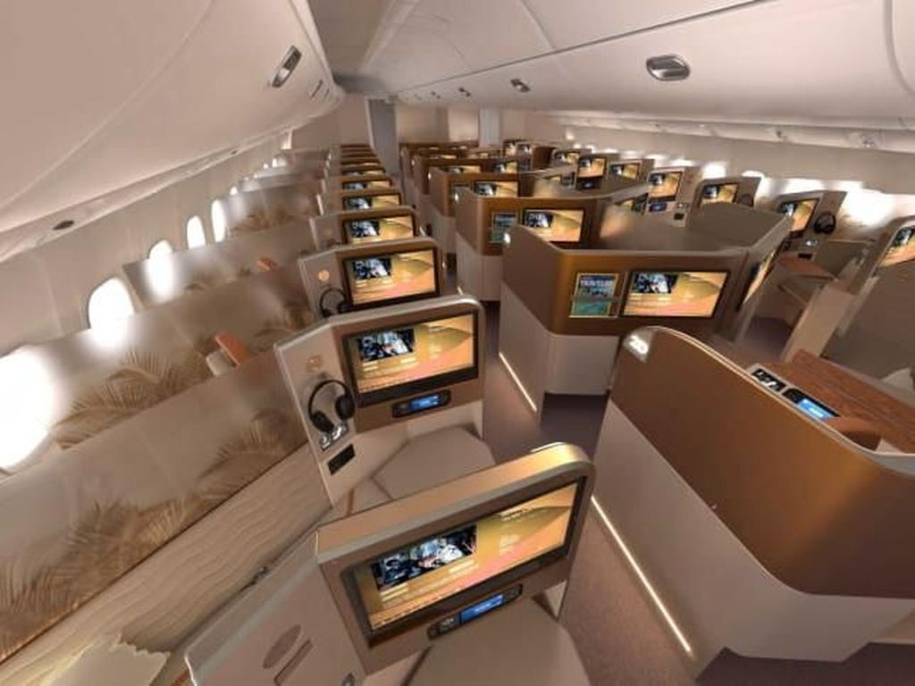 Potret Desain Kabin Kelas Bisnis Pesawat Terbaru di Dunia