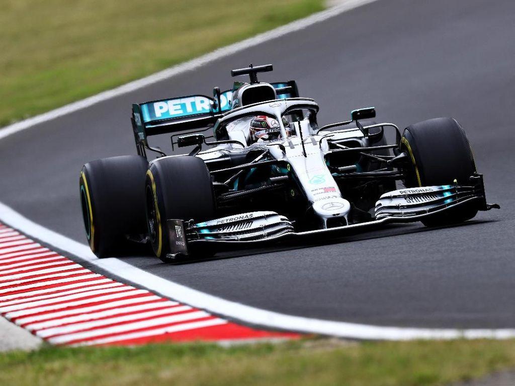 Hamilton Tercepat di FP3 GP Hongaria