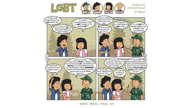 Akun Twitter TNI Cuitkan Bahaya LGBT