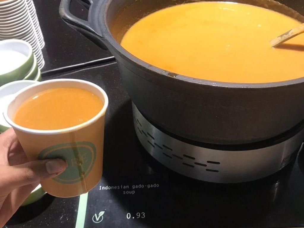 Netizen Indonesia Curhat, di Belanda Gado-gado Diolah Jadi Sup