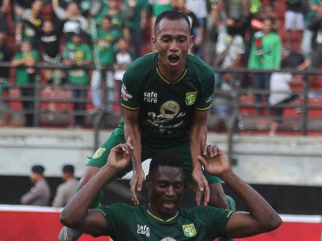 Hasil Liga 1: Irfan Jaya Menangkan Persebaya atas Persipura