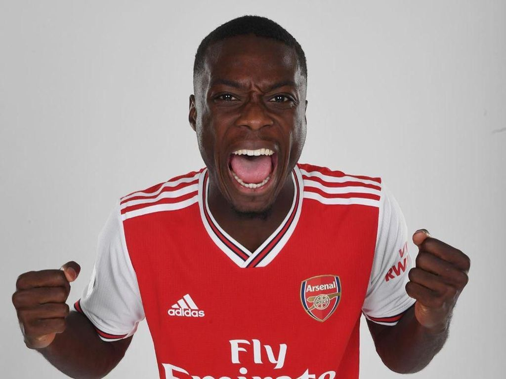 Arsenal Beraroma Prancis, Pepe Bakal Mudah Beradaptasi