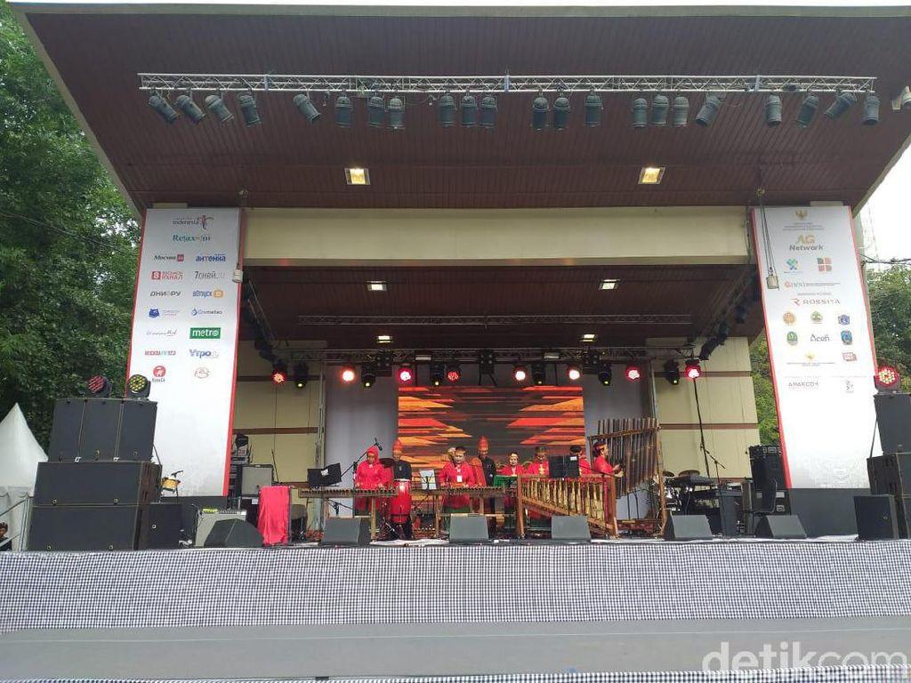 Festival Indonesia di Moskow Ubah Citra Dua Negara