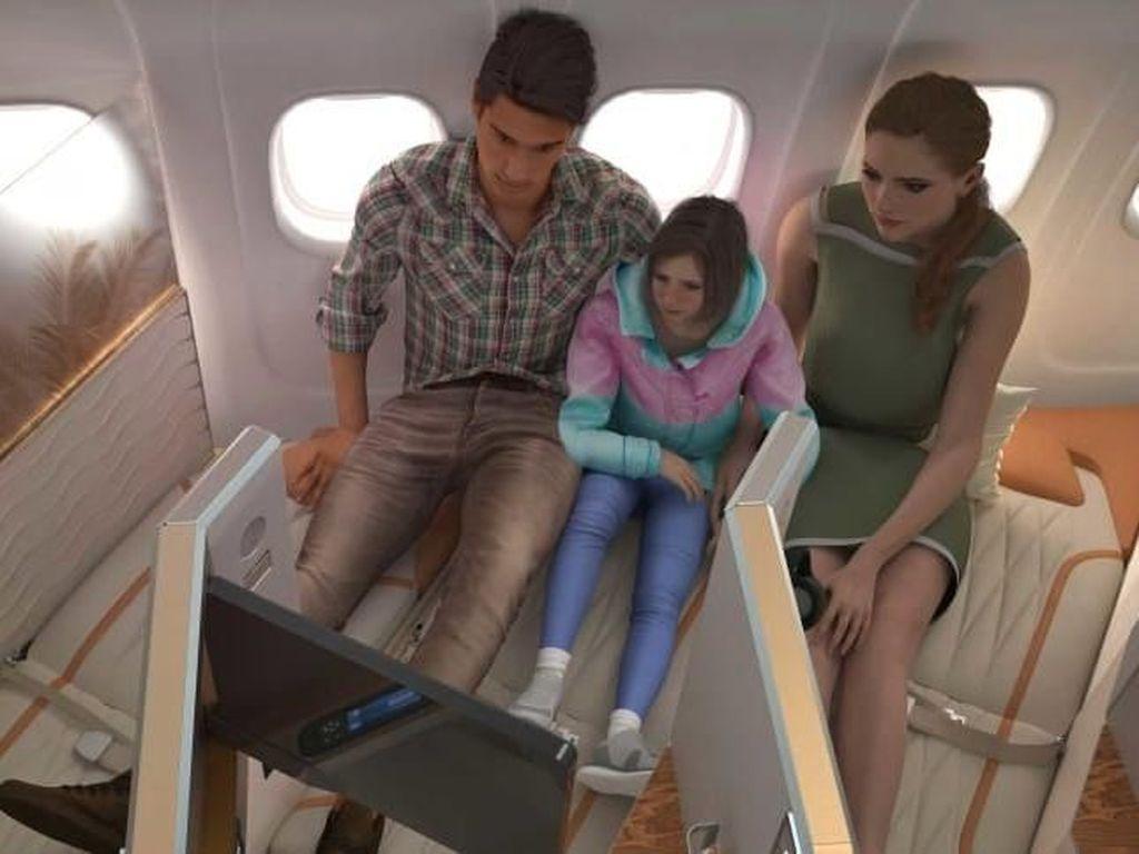 Inikah Kabin Bisnis Pesawat paling Nyaman?