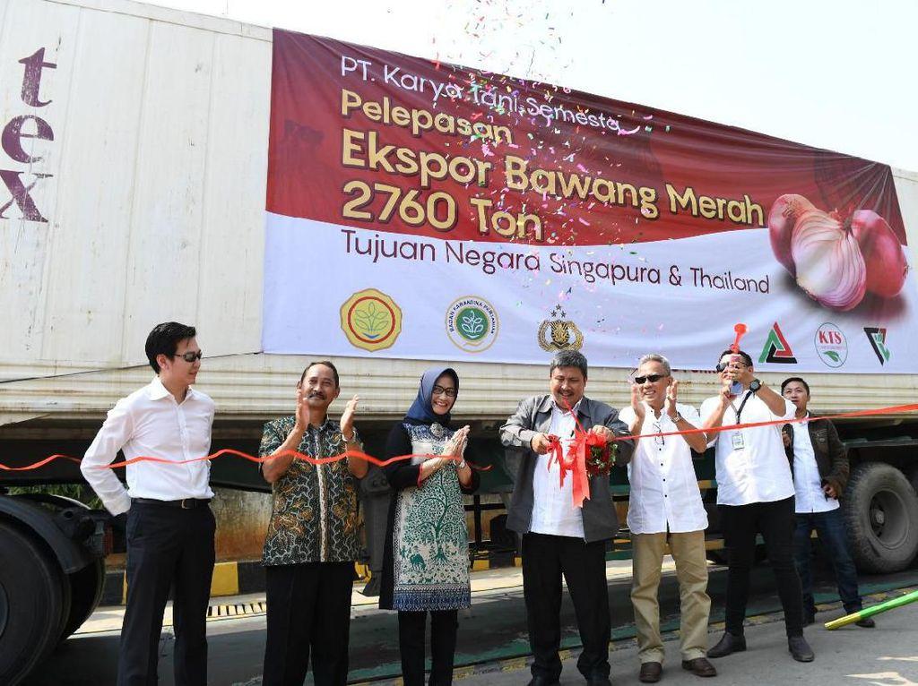 RI Genjot Ekspor Bawang Merah ke Singapura hingga Thailand