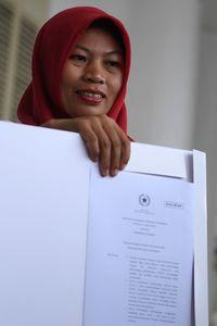 Baiq Nuril Bertemu Jokowi /