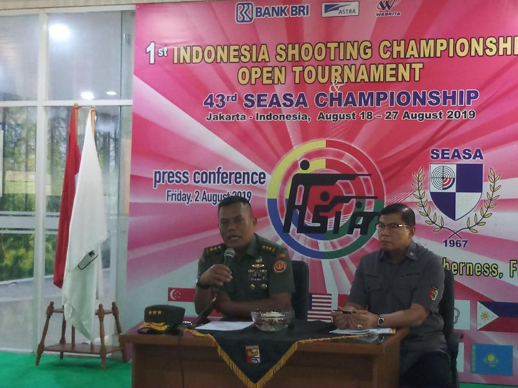 Perbakin Gelar SEASA dan Indonesia Shooting Tournament 2019