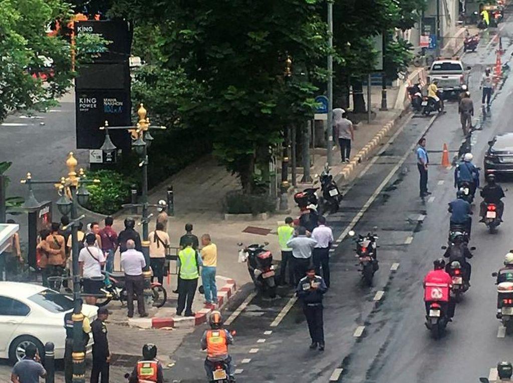 Rentetan Ledakan Bom Guncang Bangkok, Polisi: Total 6 Bom Meledak
