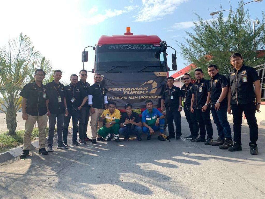 Konsumsi Pertamax Turbo Aceh Meningkat, Pertamina Tambah Suplai Poin