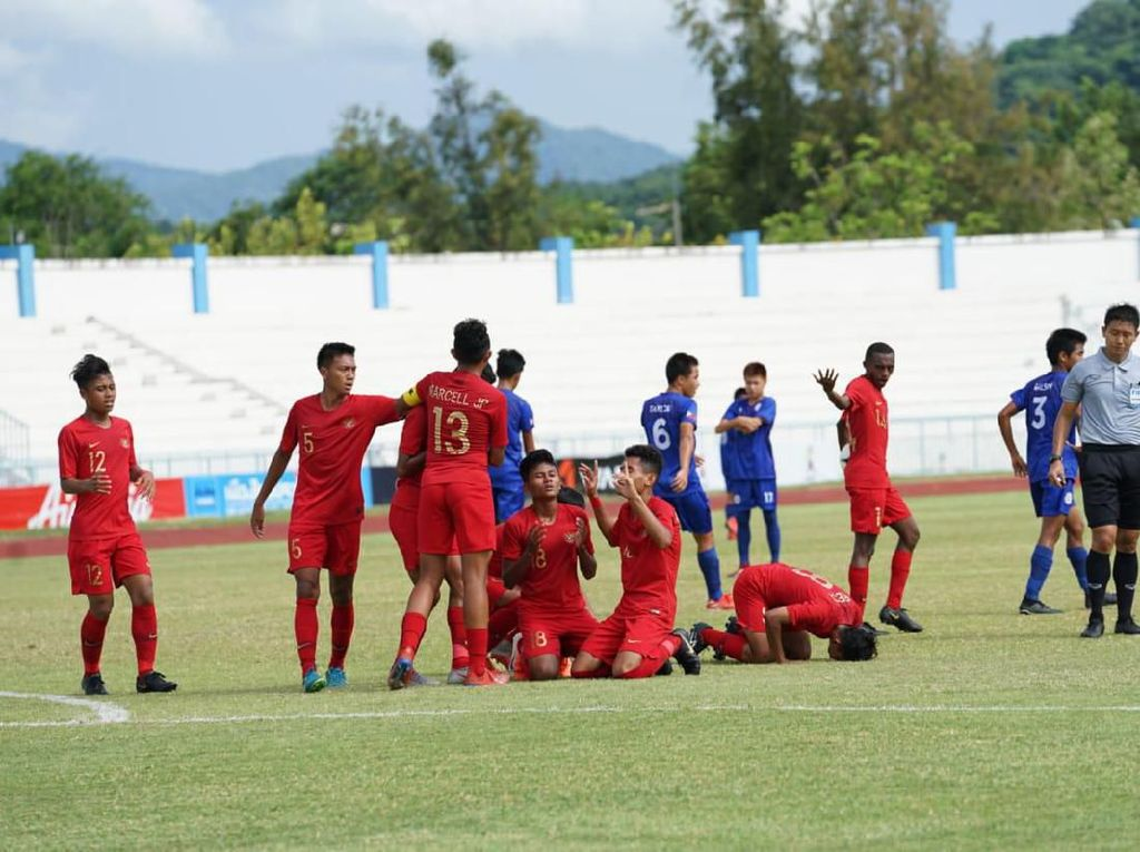 Piala AFF U-15: Indonesia Selalu Kompak