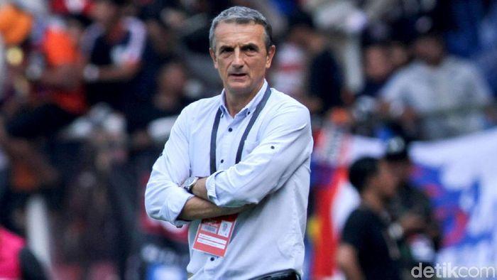 Milomir Seslija, pelatih Arema FC (Rifkianto Nugroho/detikSport)