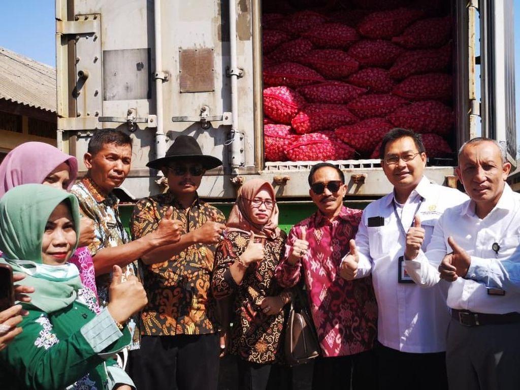 Probolinggo Ekspor Bawang Merah ke Thailand