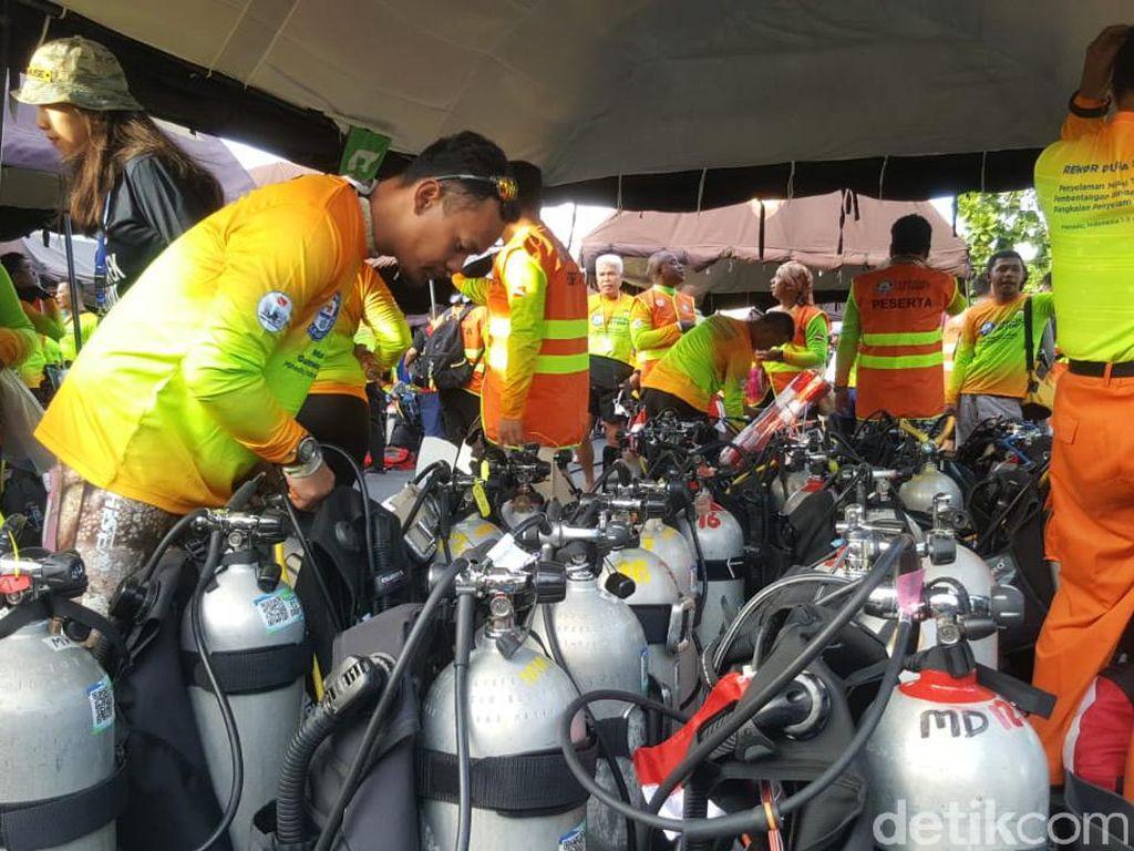 Kolosal! Ribuan Diver Bersiap Pecahkan Guinness World Record di Manado