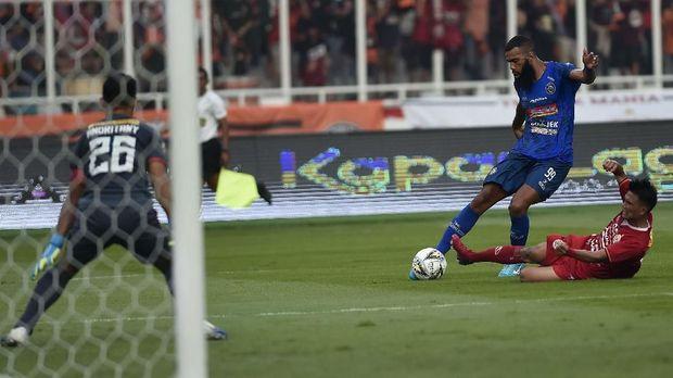 Hasil Liga 1 2019: Arema Menang  2-0 atas PSM